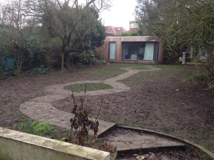 Artificial Grass Installation Back Garden Before & After